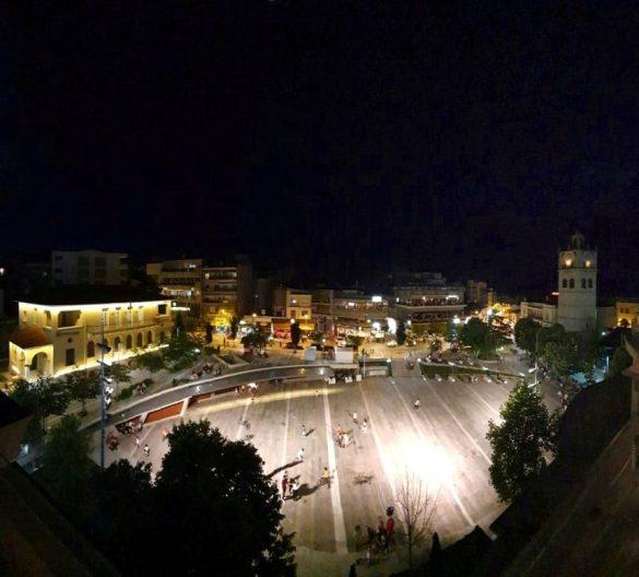 Κεντρική πλατεία από ψηλά